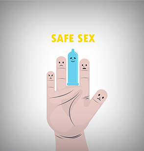 Sexually transmitted infections animation cartoon